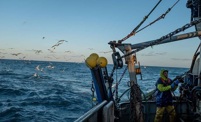 Yasak sahada balık avlayanlara ceza uygulandı