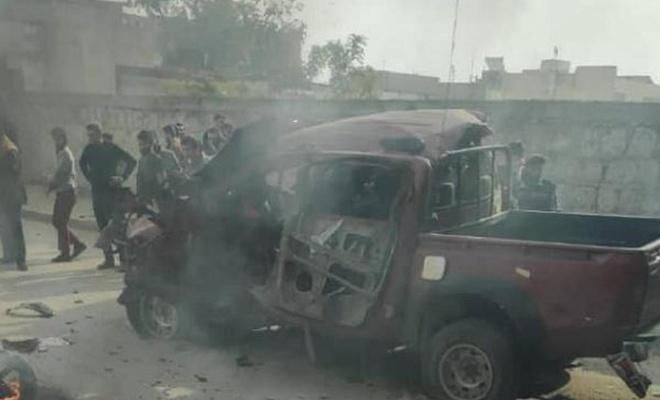 PKK'den Azez'de bombalı saldırı
