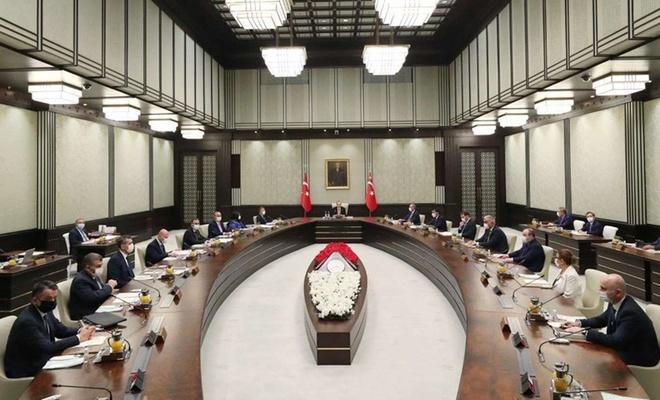 Cumhurbaşkanlığı Kabinesi bugün toplanıyor, gündem yoğun