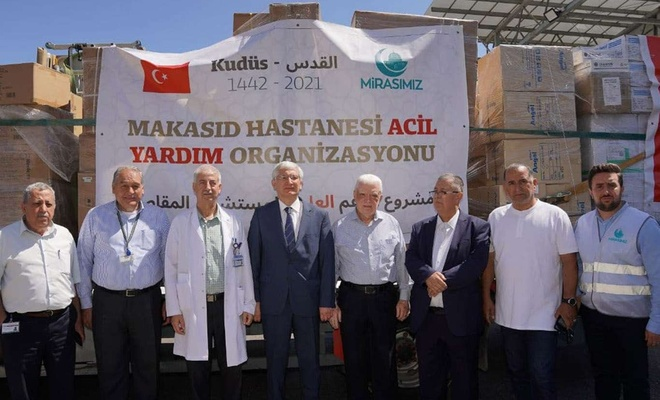 Turkish charity provides medical support to Palestine