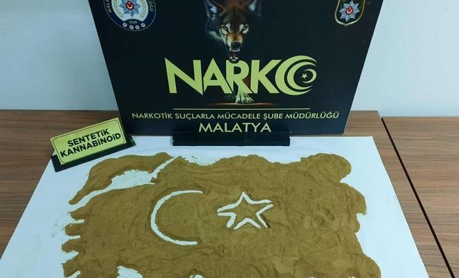 Malatya'da yapılan uyuşturucu operasyonunda 4 kişi yakalandı