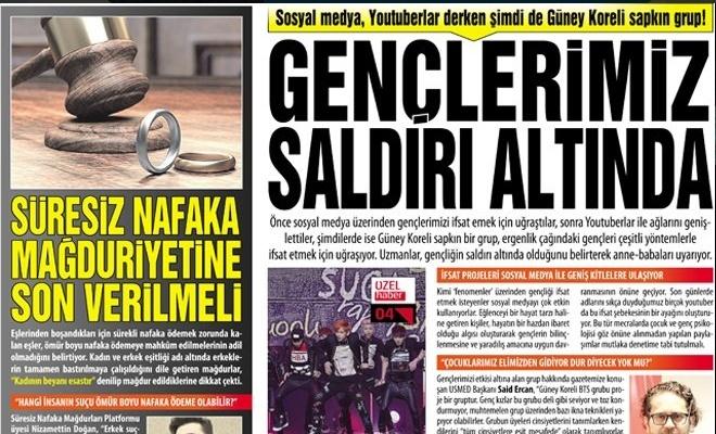 GENÇLERİMİZ SALDIRI ALTINDA