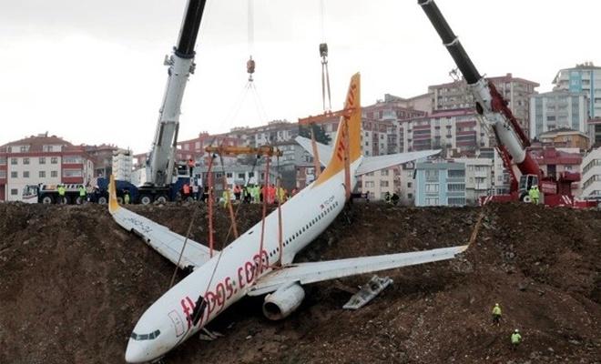 Trabzon'da pistten çıkmıştı! Başlarına dert oldu