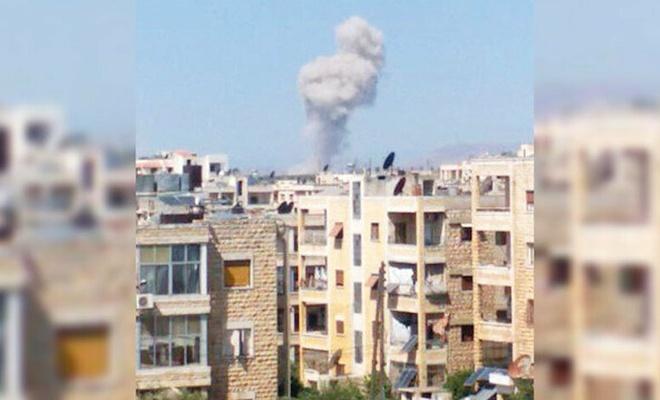 İdlib patlamak üzere: Rus savaş uçakları İdlib'e hava bombardımanı yaptı