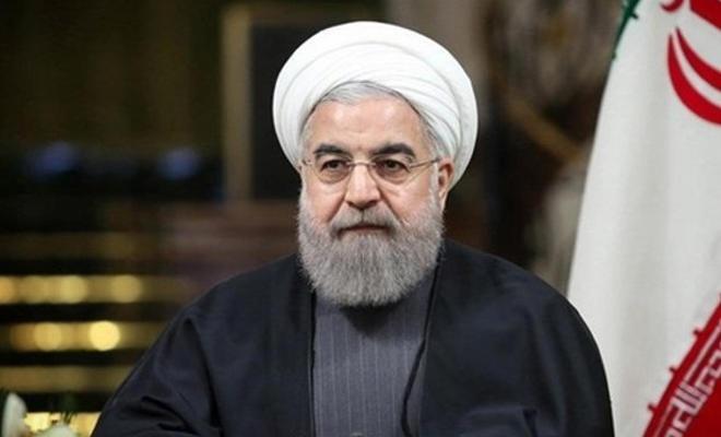 Ruhani: Ekonomik savaşla İran halkı hedef alınıyor