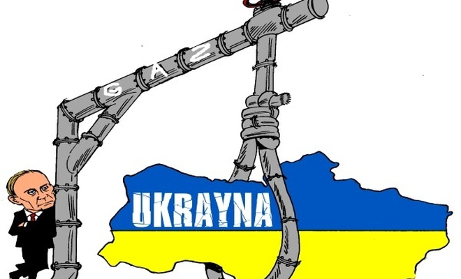 Rusya Ukrayna`nın doğalgazını kesti