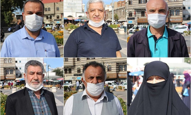 Diyarbakırlı vatandaşlardan Macron'a haddini bil çağrısı