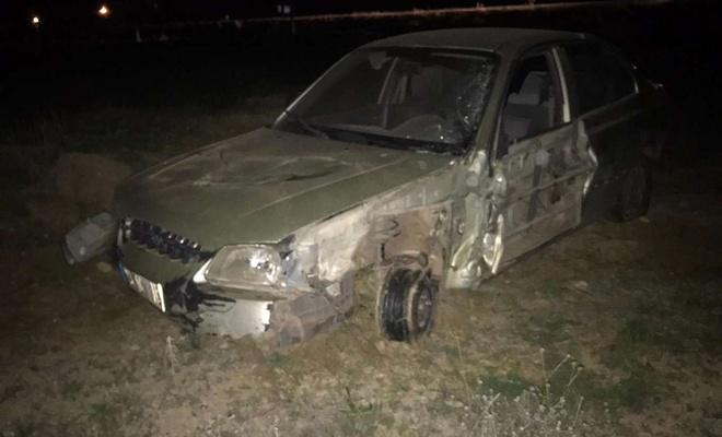 Otomobil ile beton mikseri ile çarpıştı: Bir yaralı