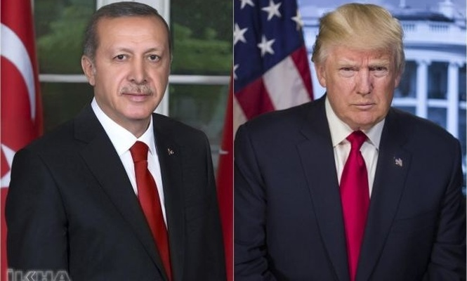 President Erdoğan holds a phone conversation with Trump