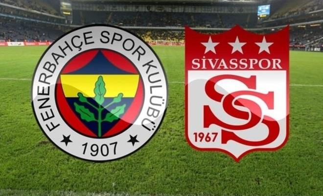 Fenerbahçe evinde Sivasspor'a yenildi