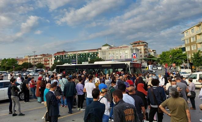 İBB Kirazlı-Metrokent metro hattı seferlerini iptal etti: Vatandaşlar isyan etti