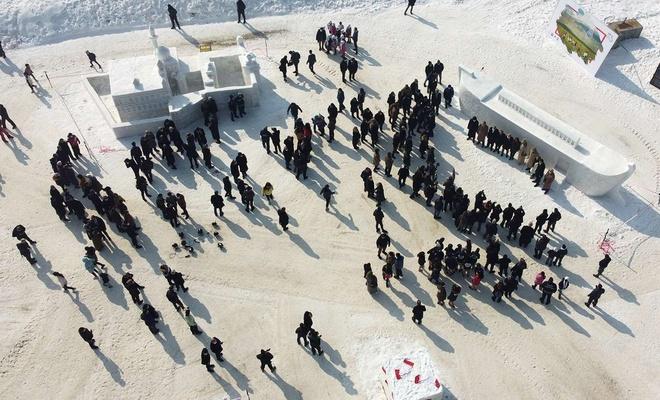 Ağrı'da Kar ve Buz Festivali düzenlendi