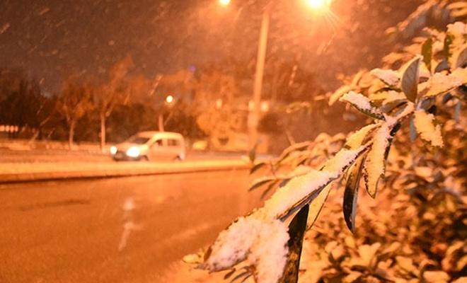 Kar yağışı başladı!