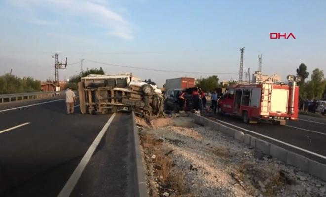 Zincirleme kaza: 1 ölü, başsavcı ile 6 kişi yaralı