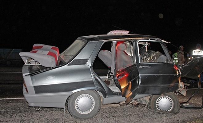 Yozgat`ta trafik kazası: 1 ölü, 2 yaralı