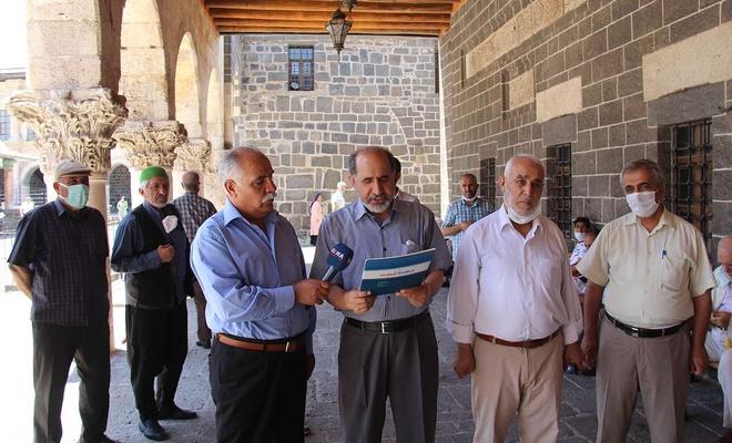 Diyarbakır'da Ezan-ı Muhammed-i'nin ilk okunuşunun 1399'uncu yıldönümü kutlandı