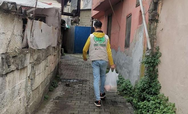 Umut Kervanı Hatay'da Ramazan öncesi muhtaçların yüzünü güldürdü