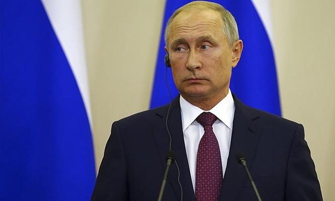 Putin düşürülen Rus uçağı için yine israil`i işaret etti