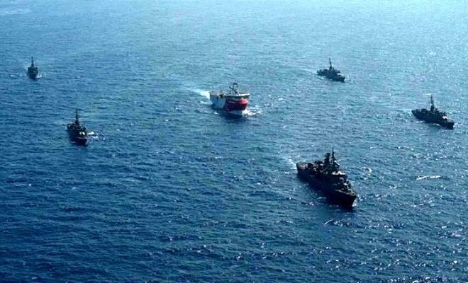 Miçotakis'le görüşen Macron'dan Türkiye karşıtı adım: Doğu Akdeniz'deki askeri güç artırılacak