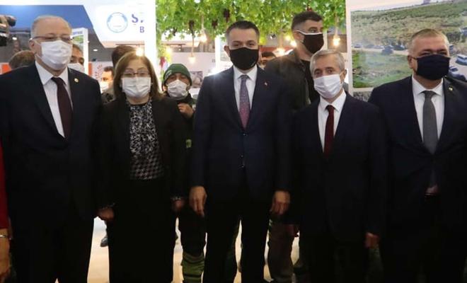 Şahinbey Belediyesi GAPTARIM fuarında stant açtı