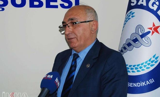 """Sağlık-Sen Bitlis Şube Başkanı Kaya: """"Sağlıkçılar alın terinin karşılığını istiyor"""""""