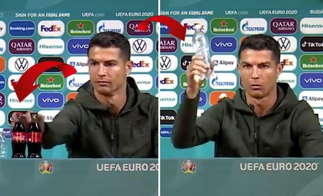Cristiano Ronaldo'nun Coca Cola'ya tepkisinin maliyeti 4 milyar dolar
