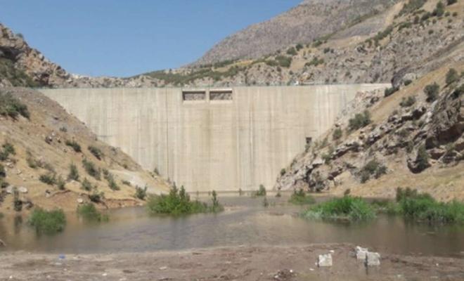 Şırnak Musatepe Barajı'nda su tutuldu