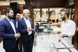 HÜDA PAR Bingöl milletvekili adayları esnafı ziyaret etti