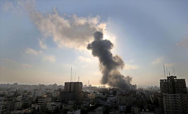 İşgal rejiminden Gazze'ye saldırı