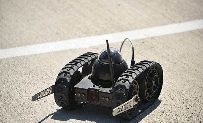 Yerli mini insansız kara araçları geliştirildi