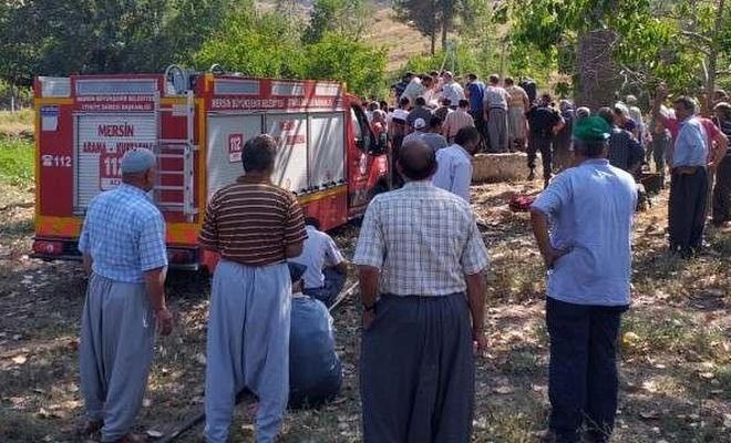 Mersin'de kuyuya düşen oğlağı kurtarmak isteyen kişi hayatını kaybetti