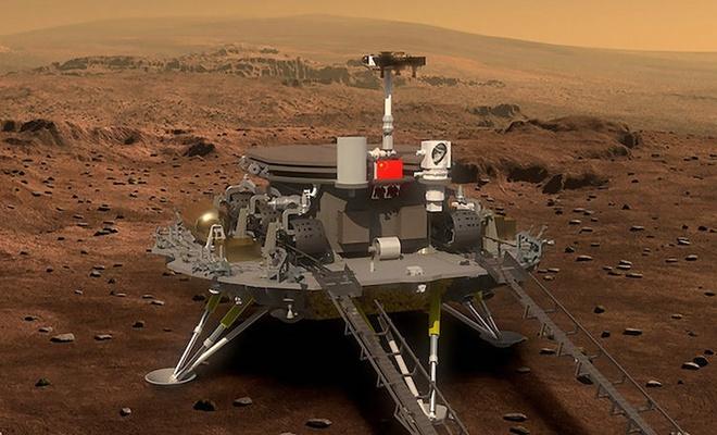 Çin'in uzay aracı Mars'tan fotoğraf gönderdi