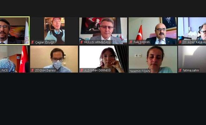 """""""Dünya ALS Günü Çevrimiçi Paneli""""nde talepler ele alındı"""