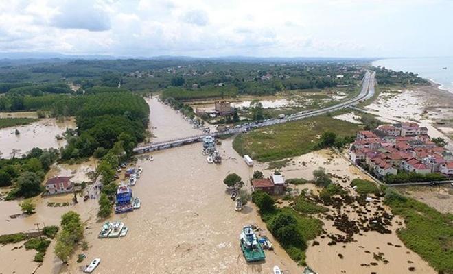 Kocaali-Akçakoca'da sel : 7 kayıp ihbarı var