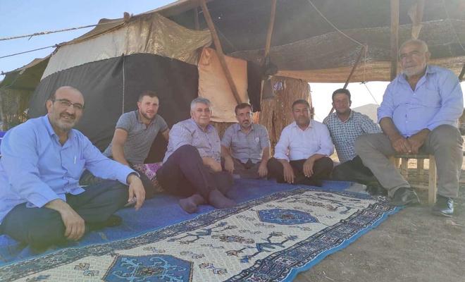 HÜDA PAR Diyarbakır'da göçerleri ziyaret etti
