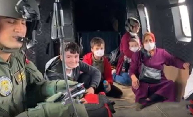 MSB: Kastamonu ve Sinop'ta 681 kişi helikopterle tahliye edildi