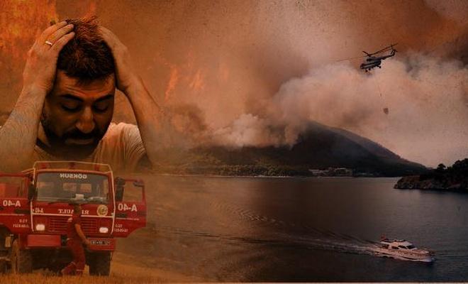 Tüm yangınlarla ilgili genel durum
