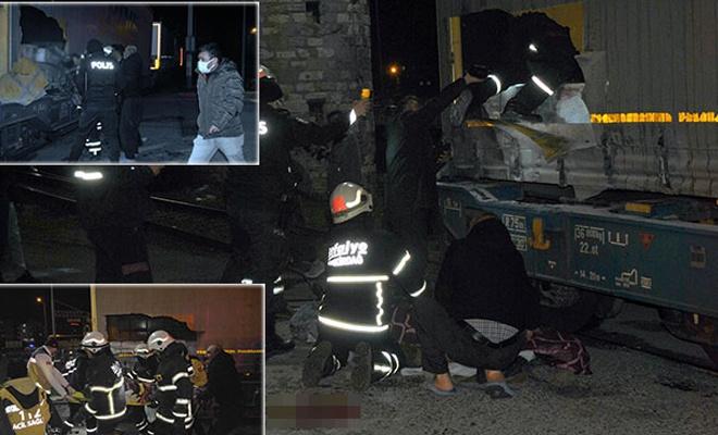 Bulgaristan trenine binen Suriyeliler akıma kapıldılar