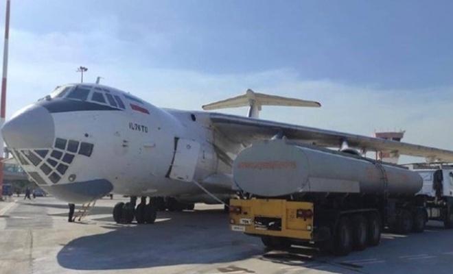 İran yangın söndürme uçağı gönderdi