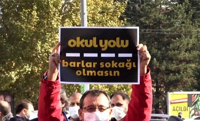 Eskişehir'de 'barlar sokağı' rezaletine tepkiler devam ediyor