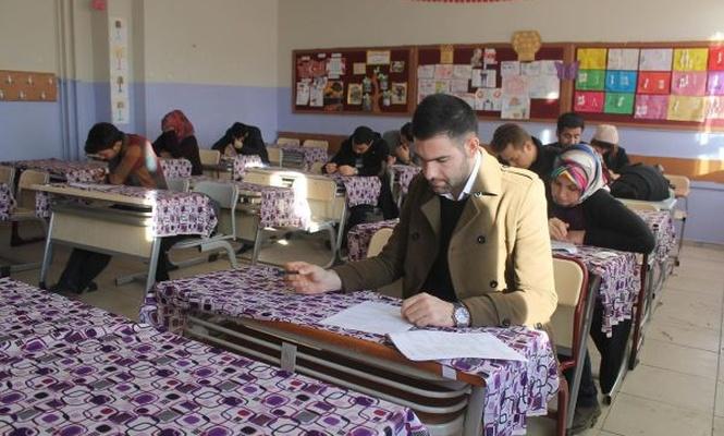 Aday öğretmenlere yönelik deneme sınavı