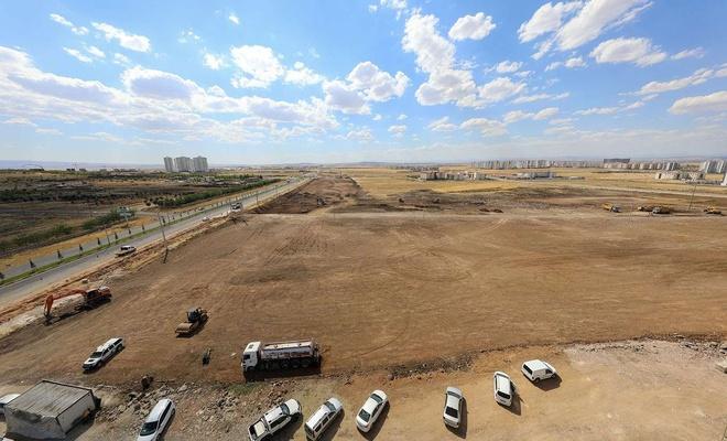 Diyarbakır Büyükşehir Belediyesi yeni fidanlık inşa ediyor