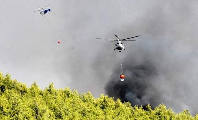 Muğla'daki yangında köylüler evlerini terk ediyor