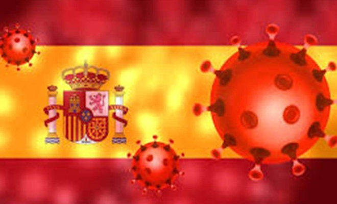İspanya'da salgın nedeniyle son 3 günde 767 can kaybı 93 bin vaka