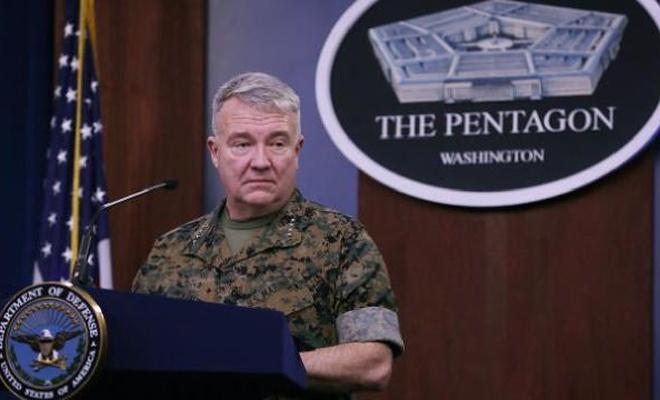 ABD Merkez Kuvvetler Komutanlığından çekilme açıklaması