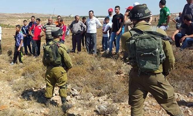 Siyonist işgal rejimi Filistinlilere ait iş makineleri gasbetti