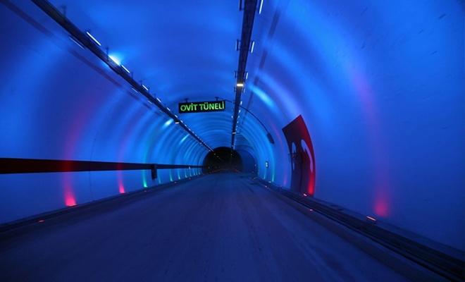Ovit Tüneli açıldı