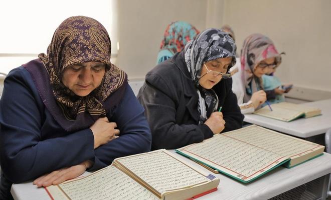 Kur'an-ı Kerim öğrenme aşkı yaş sınırı tanımıyor