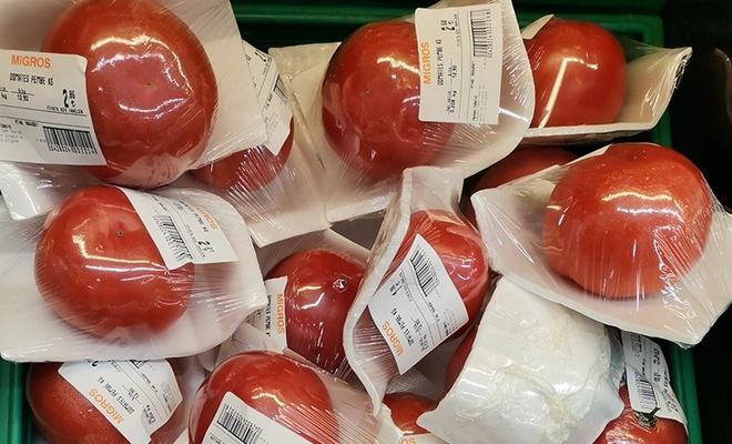 Migros'un 'pembe domatesleri' ve menemen