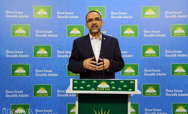 HÜDA PAR Genel Başkanı Sağlam: Camideki insanlara müdahale şekli kabul edilemez